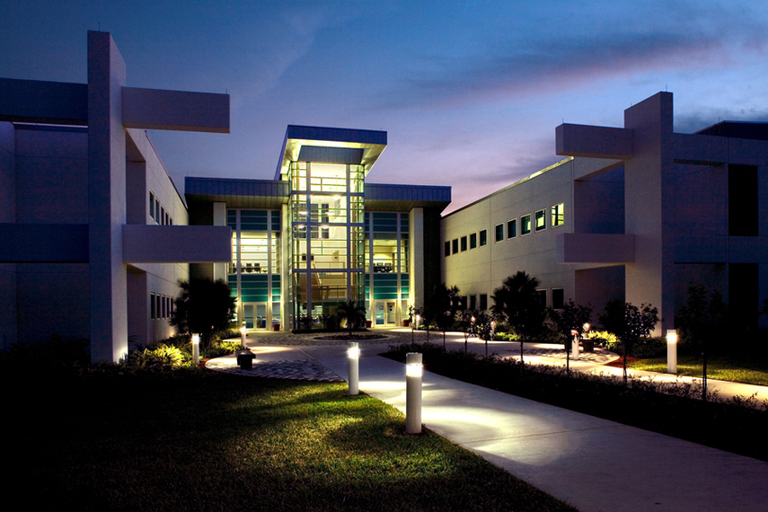 The Bio Science Building At Palm Beach State College In Gardens Florida